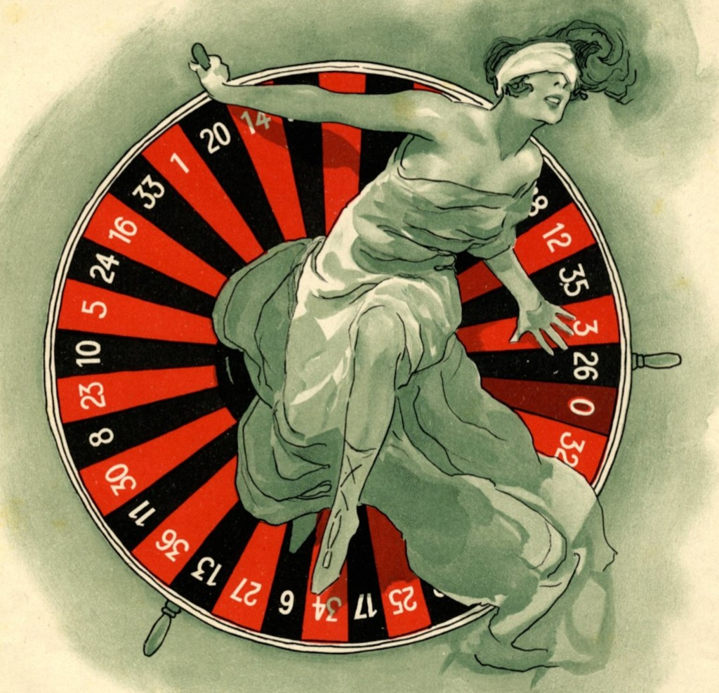 'Roulette' Sheet Music cover (detail) on www.imagesmusicales.be