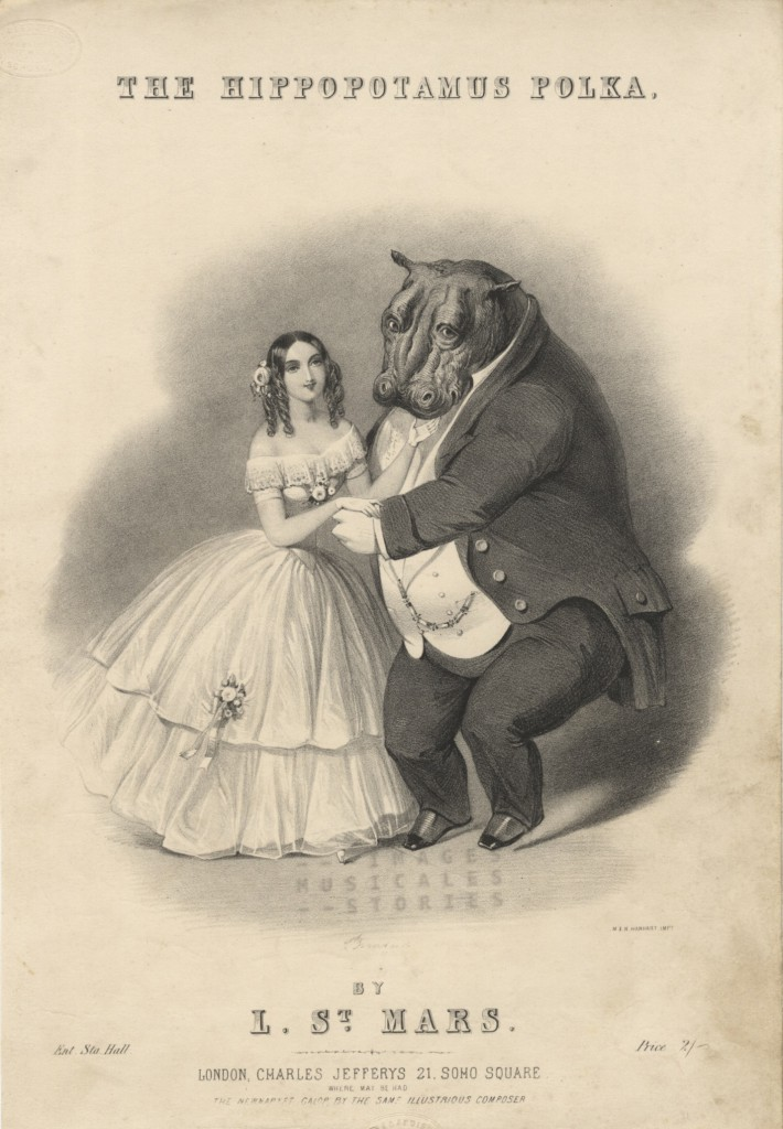Sheet Music - The Hippopotamus Polka