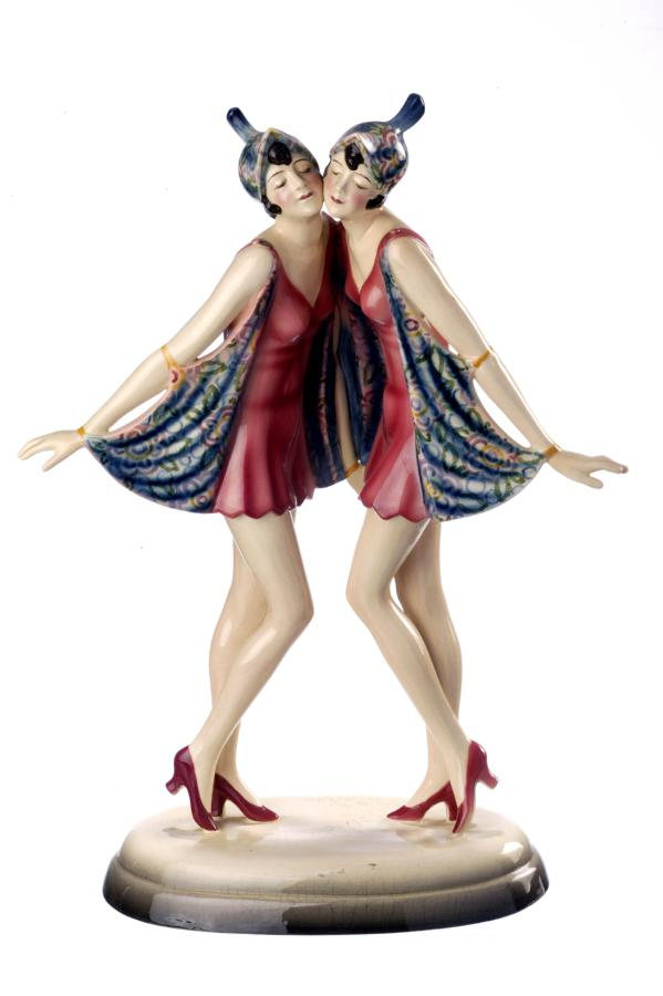 figurine dolly sisters
