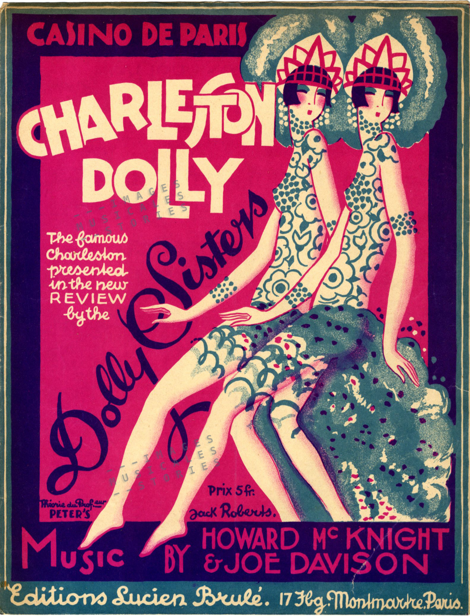 Charleston Dolly, illustrated by Jack Roberts