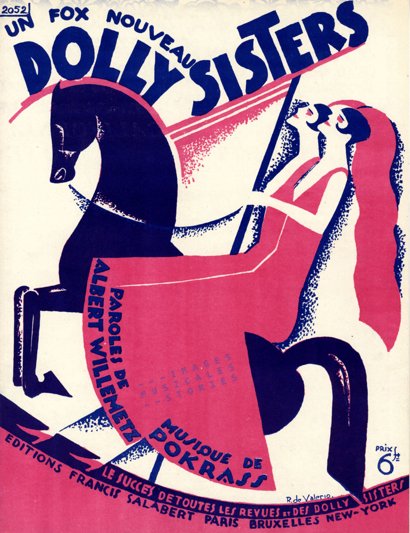 Dolly Sisters, illustrated by de Valerio