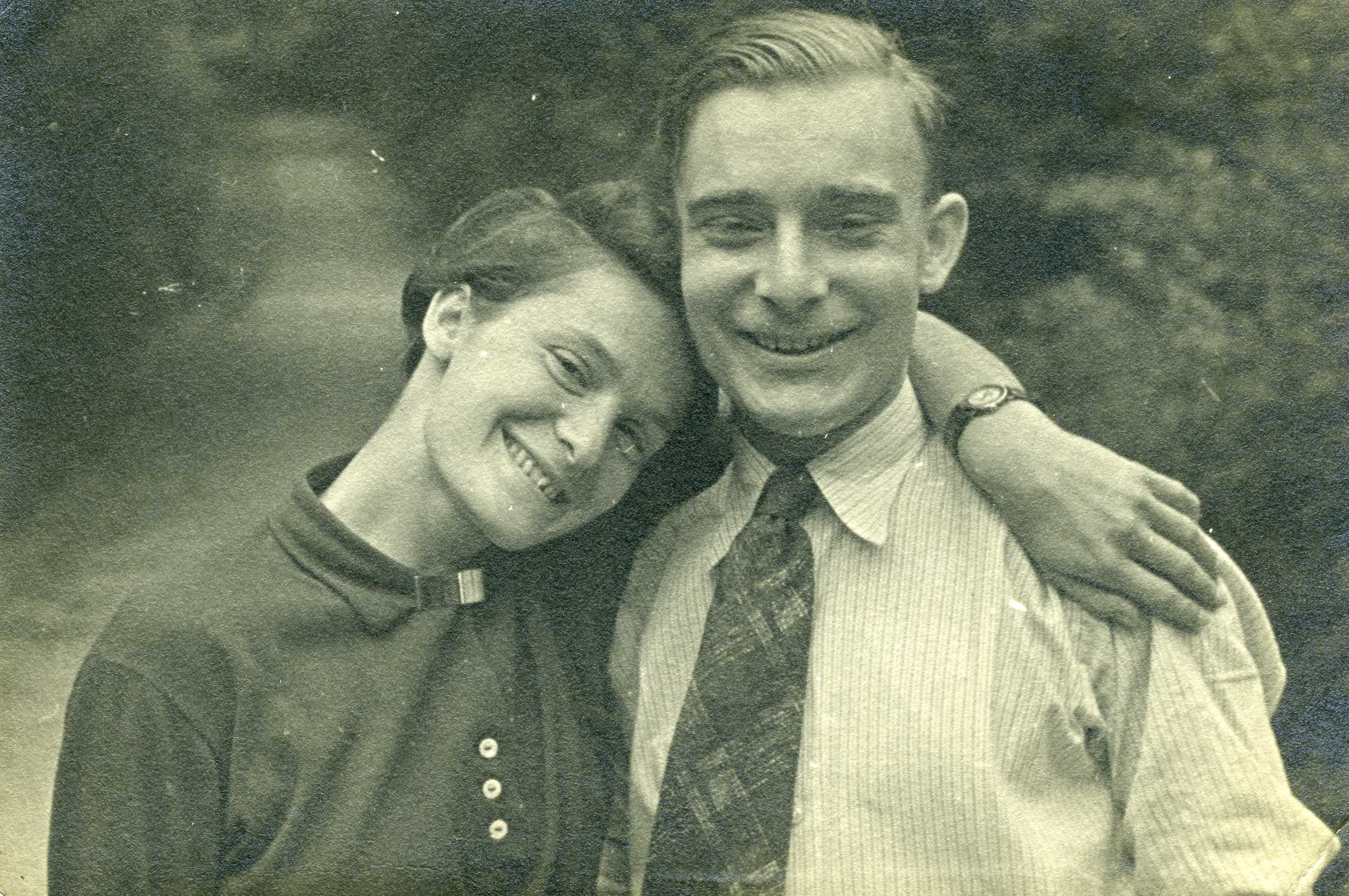 Muschi and Fritz Daniel, 1934
