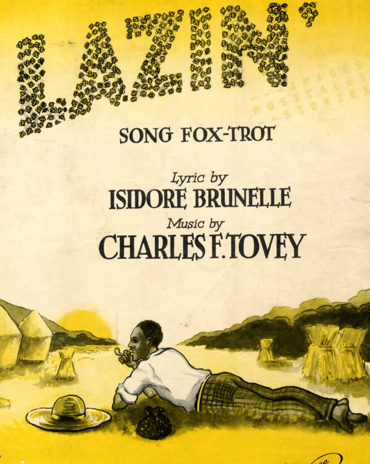 Lazin', Sheet music (Lazin', partition illustrée)