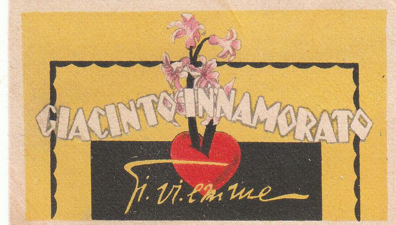 giacinto innamorato kaartje