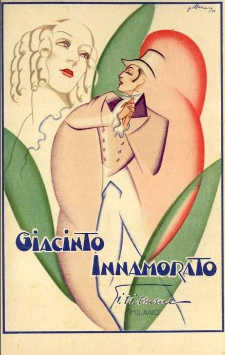 postkaart giacinto