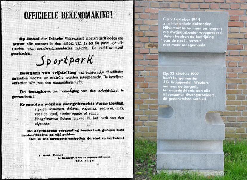 Arbeitseinsatz in Hilversum 1944