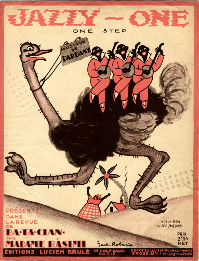 Sheet Music illustrated by Jack Roberts (1923)