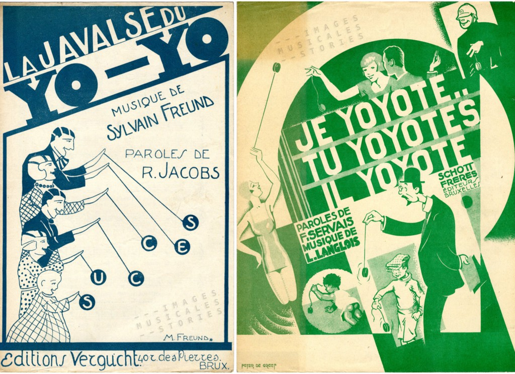 More yo-yo sheet music covers.