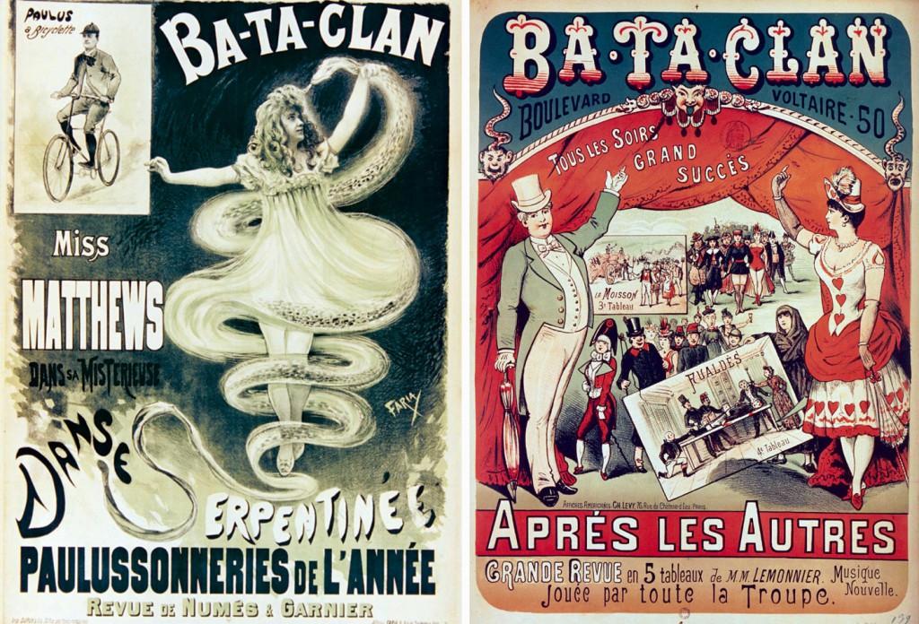 affiches bataclan