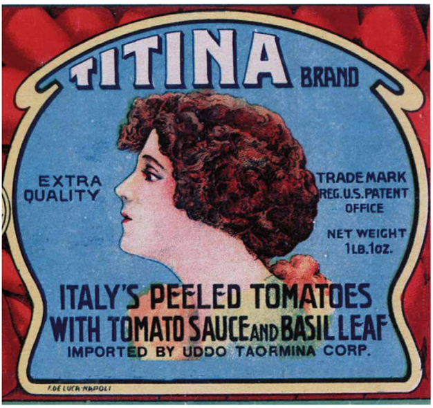 Tinned tomatoes.