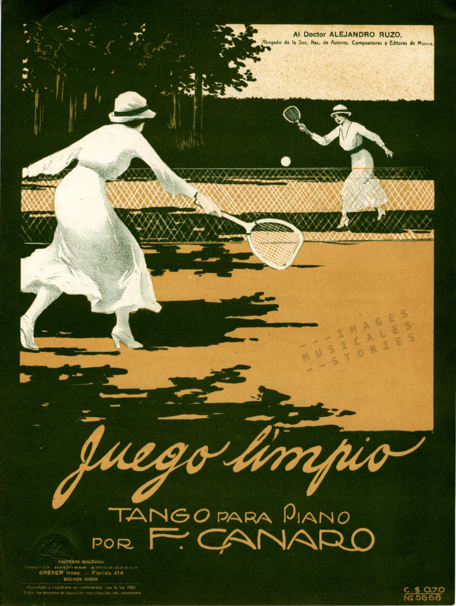 tennis tango