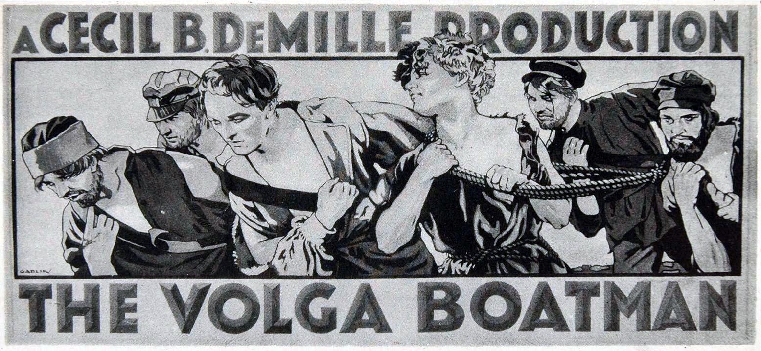 Volga boatman Poster Gablin