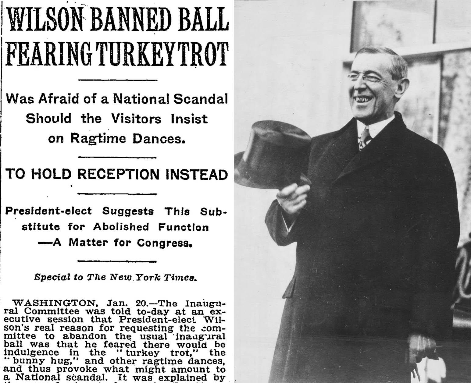 President-elect-Wilson turkey