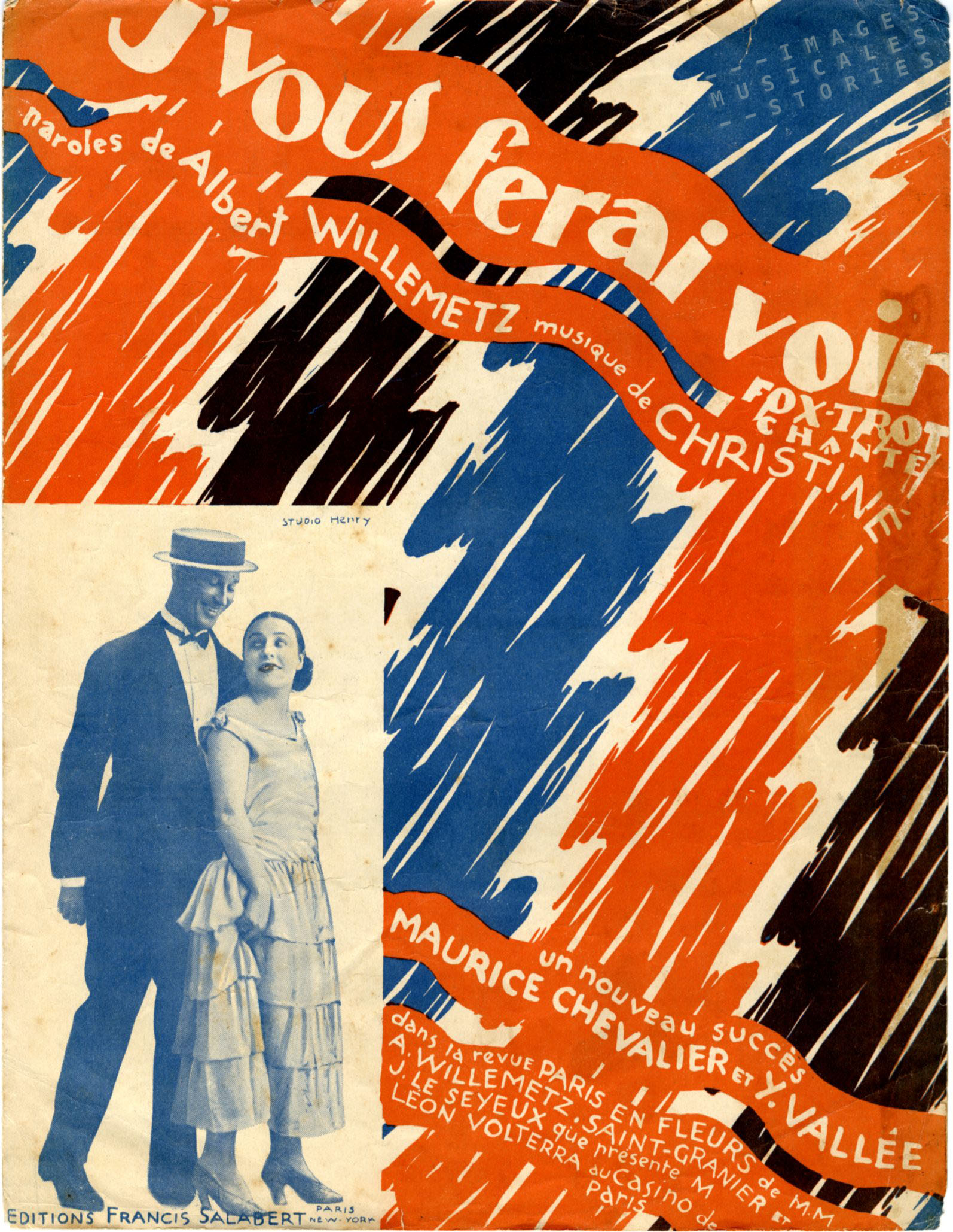 'J'vous ferai voir', illustrated by de Valerio (1925).