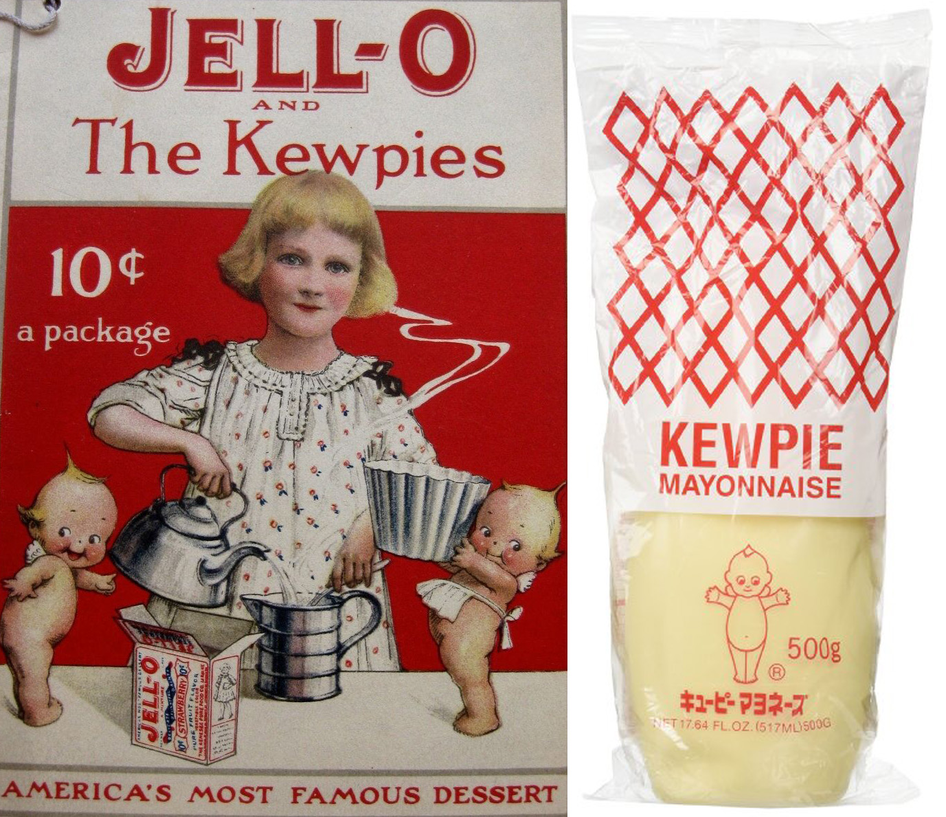 jello kewpies EN MAYONAISE
