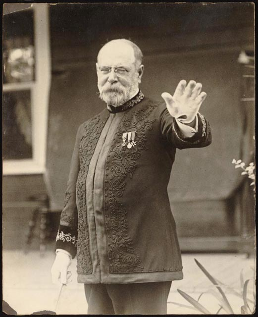 "John Philip Sousa, the Sousa, the ""March King"". [ ]"