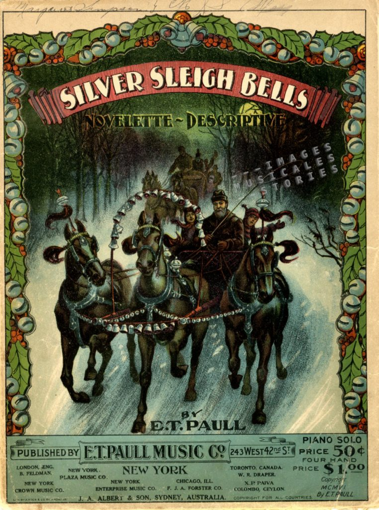'Silver Sleigh Bells' by E. T. Paull.